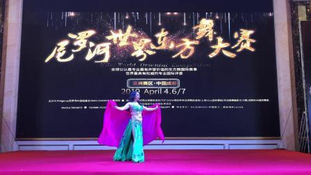 陈雪老师原创开场舞2019年尼罗河世界东方舞大赛冠军作品