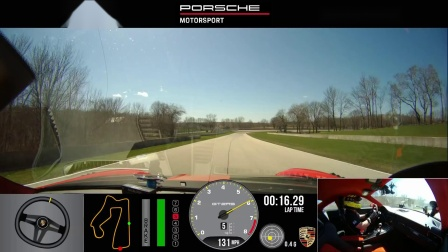 Porsche 911 GT2 RS record Road America