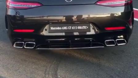 奔驰AMG GT四门轿跑排气声浪