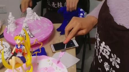 专业私房蛋糕培训  网红生日蛋糕技术教学讲课教室