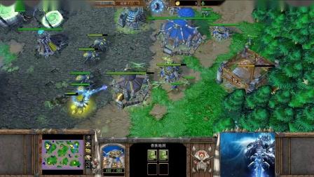 【腐蚀之地上的血拼】魔兽争霸大帝解说 Infi vs Darken EI-国语720P