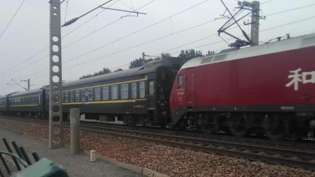 客车K589次 HXD1D 25G