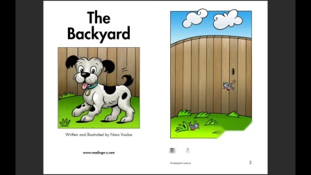03 The Backyard - RAZ level-aa - @