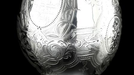 ANTIQUE 19thC VICTORIAN SOLID SILVER SNAKE WINE JUG, BARNARDS c.1863
