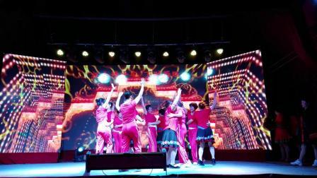 惠州双人对跳广场舞《吉祥》