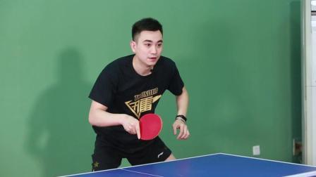 【乒乓找教练】261 组合训练第一板就应该加质量
