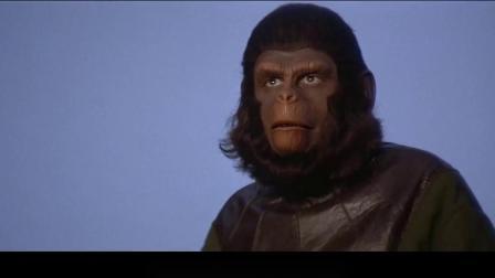 人类进攻人猿城市 凯撒霸气应战 5分钟看完人猿星球系列大结局《
