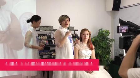 漯河艾尚化妆美容职业培训学校化妆专业——影楼高端新娘造型班
