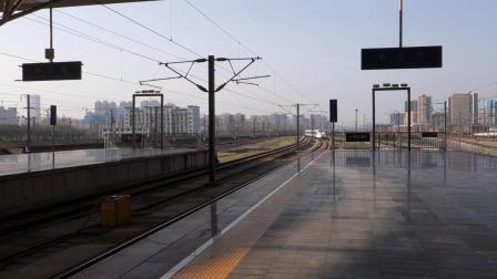 2019年3月25日,G405次(北京西站-昆明南站)本务中国铁路北京局集团有限公司北京动车段北京西动车运用所CRH380AL-2556长沙南站进站