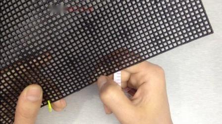 193集方胖子回字方格网格包包制作视频 十字绣包包 泫雅同款编织包零基础视频教程方法