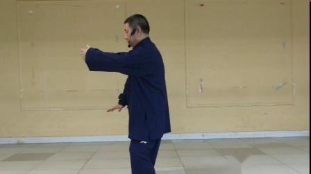 传统杨拳85式3揽雀尾左棚,主讲;张炳立