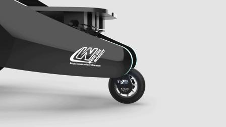 RenChair概念轮椅:材料设计让移动护理设备更友好