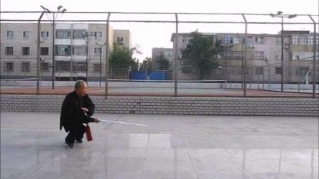 木兰剑--85岁晨练