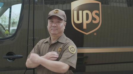 UPS香港快递员江永辉25年零可避免交通事故