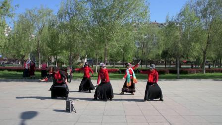 广场舞 天边 东城女人花舞蹈队