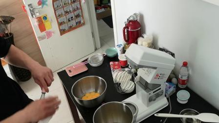 十四寸原味戚风蛋糕制作教程(厨师机版)