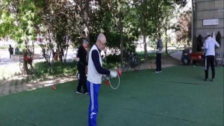 钢圈铁环空竹.2019.5.7海地空竹达人