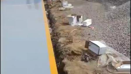 石家庄鹿光衡器汽车衡平台秤发往山西河北内蒙古地磅皮带秤视频