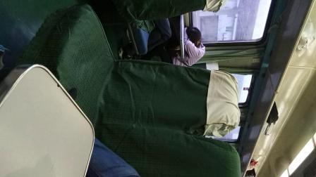 在火车上的旅行