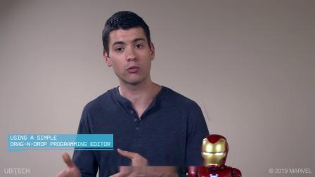 【自定义编程】带你玩转优必选钢铁侠机器人的编程功能!