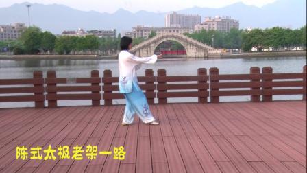高清:一场美丽的邂逅 陈素英陈式太极 纪实