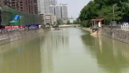 阿龙讲述梅溪河河水如何进入明清护城河(2)