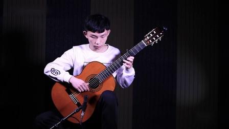 古典吉他独奏《流行的云》by 何继标