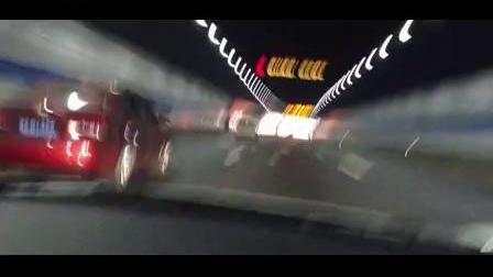 南通法拉利458轰炸上海长江隧道!! 汽车