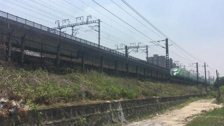 沪昆线 D5690(动集)开化-上海南 接近盈宁站