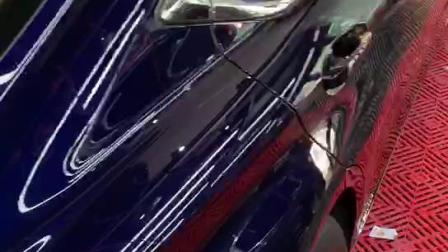 雷克萨斯E300H加装膜小二隐形车衣效果