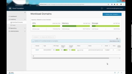 VCF3.x-03 - Create Workload Domain