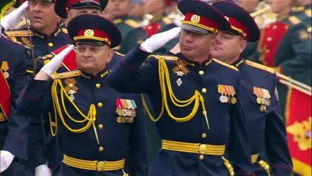 2019年俄罗斯纪念卫国战争胜利74周年红场大阅兵