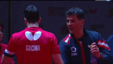2019-2019欧联杯乒乓球赛 决赛 第1轮 第5盘 加西纳vs奥恰洛夫 乒乓球比赛视频 完整