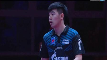 2019-2019欧联杯乒乓球赛 决赛 第1轮 第2盘 加西纳vs闫安 乒乓球比赛视频 完整