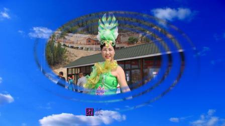 舞蹈《爱我中华》-博山中青年歌舞团九龙峪山地公园专场演出(17)