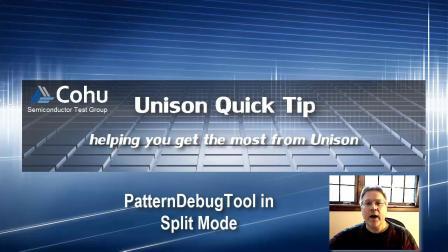Running PatternDebugTool In Split Mode