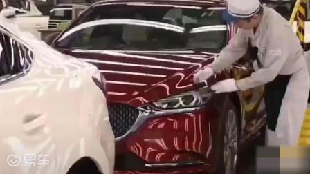 马自达汽车组装生产线