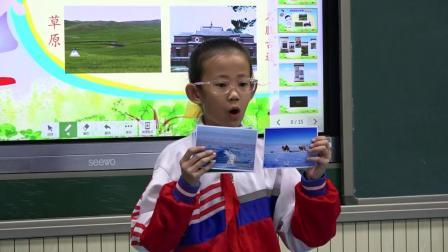 葛摄制海拉尔区正阳街小学孙英华课堂教学录像《请到我们家乡来》