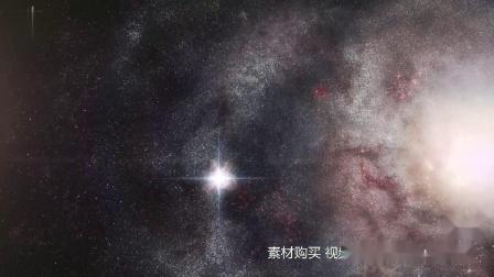 s793 唯美科幻宇宙星空银河系高清视频素材1