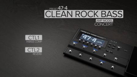 BOSS GT-1000 Version 3 固件升级贝斯音色试听