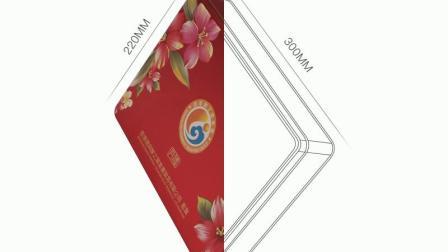 熊猫曲奇饼干铁盒包装龙凤蛋卷奶油夹心零食包装铁盒豆沙月饼铁罐