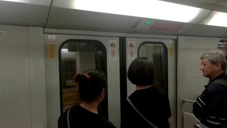 上海地铁1号线伪八老车厢开关门