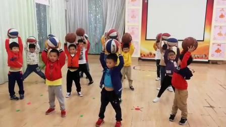 (20190508五岁2月26天)小小智慧树之一群可爱的篮球小宝贝~