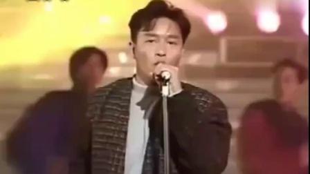 张国荣一曲《无心睡眠》,这台风,无人能敌。