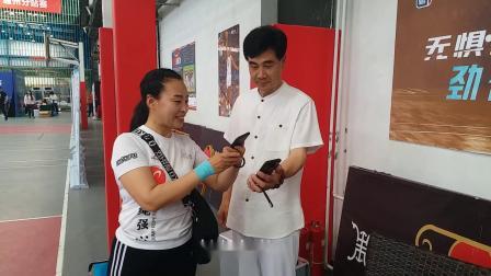 张金彪老师花样盘鹰参加2019京津冀社会体育辅导员交流展示大赛