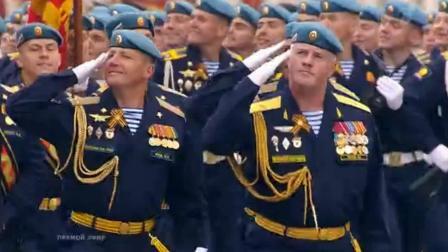 纪念伟大胜利 7 4周年的阅兵式 Военный Парад, посвященный 74-й годовщине Великой Победы-,.;