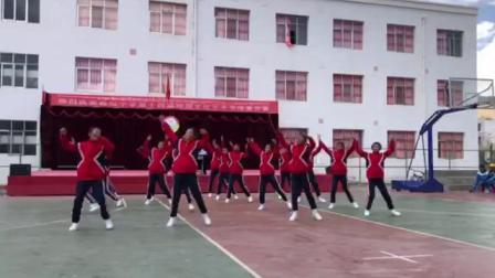 曲松县中学校园艺术节18级三班健美操(魅力青春)