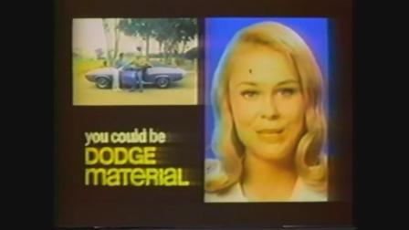 1970 dodge challenger r/t commercial