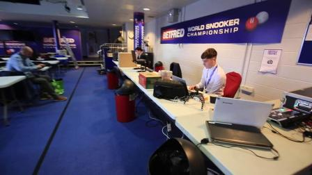 2019 World Snooker Championships behind the scenes