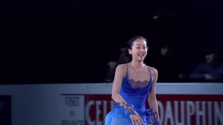 Mao Asada 2008 Four Continents Championships EX So Deep Is The Night・encore